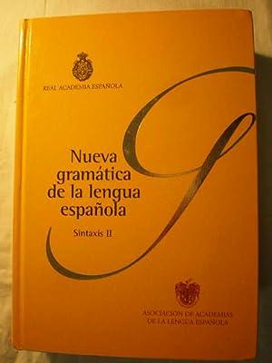 Nueva Gramática de la Lengua Española (2: Real Academia de