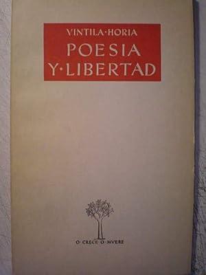 Poesía y libertad: Vintila Horia