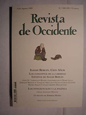 Revista de Occidente Nº 338-339. Julio-Agosto 2009.: José M. Lassalle;