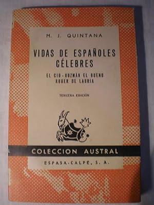 Vidas de españoles célebres: El Cid -: M. J. Quintana