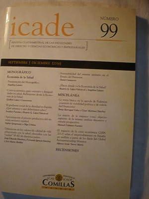 Icade Nº 99 Septiembre Diciembre 2016. Monográfico: Angelina Lázaro -