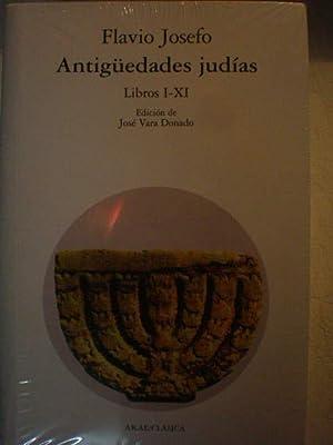 Antigüedades Judías ( 2 Vols.) Tomo I.: Flavio Josefo -