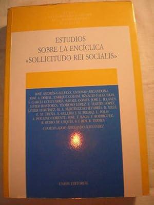 Estudios sobre la encíclica Sollicitudo Rei Socialis: José Andrés Gallego