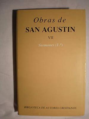 Obras Completas. Tomo VII. Sermones (1º) 1-50: San Agustín