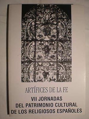 Artífices de la fe. VII Jornadas del: Rafael de Andrés,