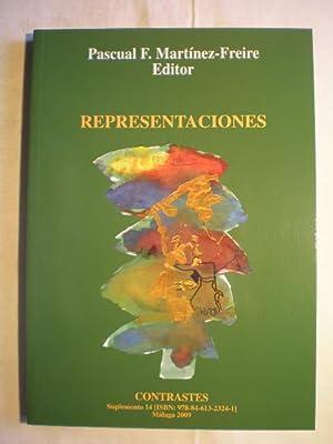 Representaciones. Suplemento 14 (2009) de Contrastes: Pascual F. Martínez-Freire