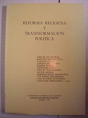 Reforma religiosa y transformación política: José María de