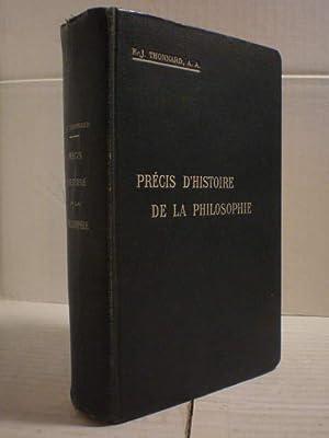 Précis d'histoire de la philosophie: F. J. Thonnard