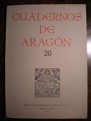 Cuadernos de Aragón, 20: Carmen Ansón Calvo - Tomás Buesa Oliver - Juan Domínguez Lasierra -...