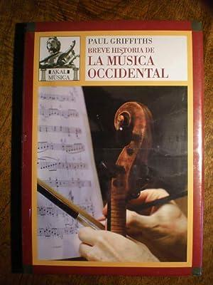 Breve historia de la música occidental: Paul Griffiths