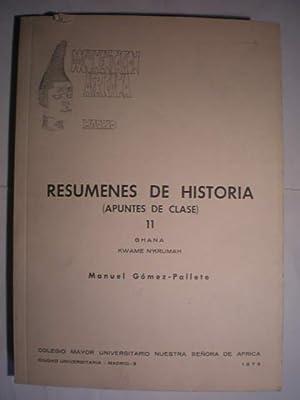 Resumenes de historia (Apuntes de clase) 11: Manuel Gómez Pallete