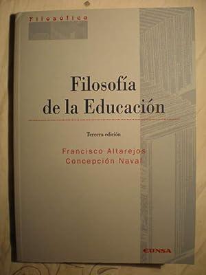 Filosofía de la educación: Concepción Naval; Francisco