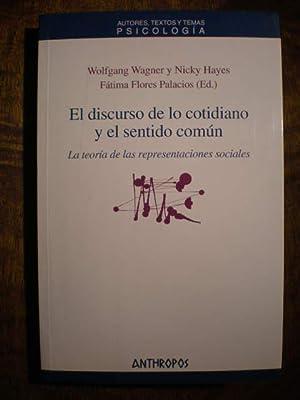 El discurso de lo cotidiano y el: W. Wagner -