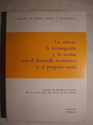 La ciencia, la investigación y la técnica: Luis Sánchez Agesta