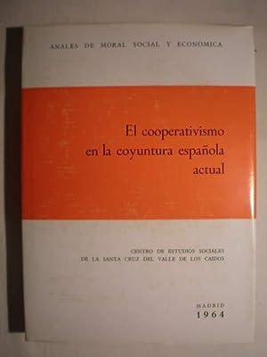 El cooperativismo en la coyuntura española actual.: Luis Sánchez Agesta