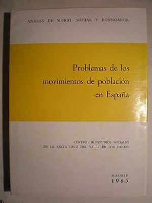 Problemas de los movimientos de población en: Luis Sánchez Agesta