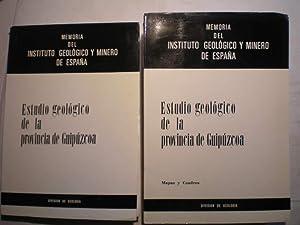 Memoria del Instituto Geológico y Minero de: Luis Jerez Mir