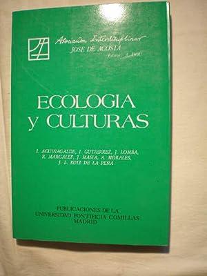 Ecología y culturas. Actas de la XIV: Alberto Dou (ed),
