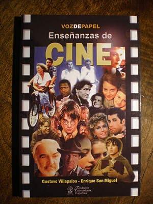 Enseñanzas de cine.: Gustavo Villapalos Salas; Enrique San Miguel