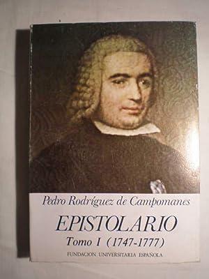 Epistolario (1778-1802). (Dos volúmenes): Pedro Rodríguez de Campomanes