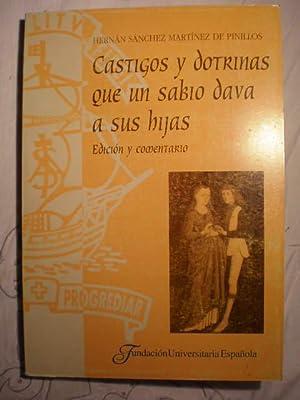 Castigos y dotrinas que un sabio dava a sus hijas (Castigos y doctrinas que un sabio daba a sus ...