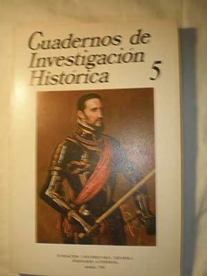 Cuadernos de investigación histórica. Num. 5 ,1981: Marqués de Nerva