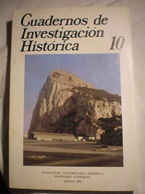 Cuadernos de investigación histórica. Num. 10 ,: Juan Antonio Cabezas;