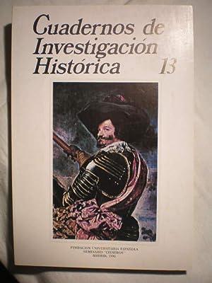 Cuadernos de investigación histórica. Num. 13 ,: José Cepeda Adán