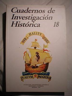 Cuadernos de investigación histórica. Num. 18 ,: María Ruiz Trapero