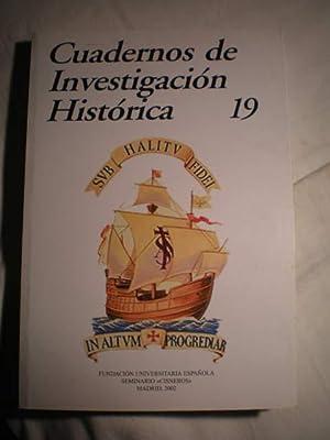 Cuadernos de investigación histórica. Num. 19 ,: María Ruiz Trapero