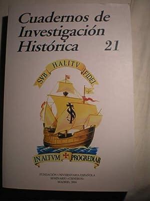 Cuadernos de investigación histórica. Num. 21 ,: María Ruiz Trapero