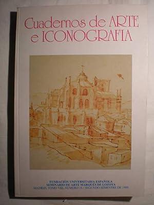 Cuadernos de arte e iconografía. Tomo VIII.: Jesús María González