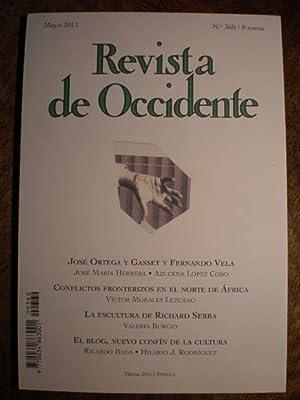 Revista de Occidente Nº 360 . Mayo: José María Herrera
