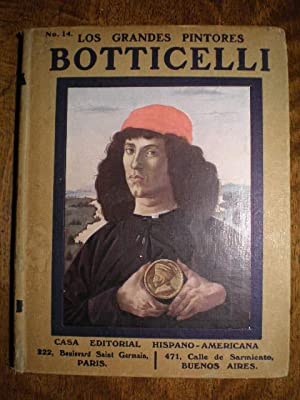 Botticelli. Los grandes pintores Nº 14