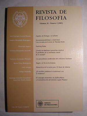 Revista de Filosofía. Volumen 28. Num. 2: José Enrique García