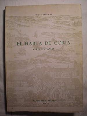 El habla de Coria y sus cercanías: John G. Cummins