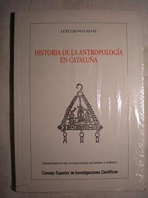 Historia de la antropología en Cataluña.: Luis Calvo Calvo (Lluis Calvo I Calvo)