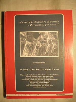 Microscopía electrónica de barrido y microanálisis por rayos X: Miguel Aballe ...