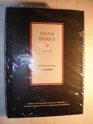 Fauna ibérica. Vol. 16. Hymenoptera: Cynipidae: Jose Luis Nieves Aldrey