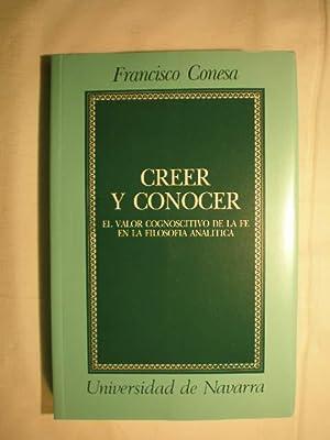 Creer y conocer: Francisco Conesa