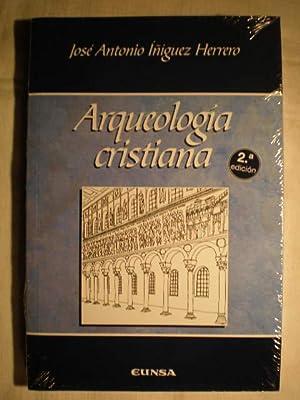 Arqueología cristiana: José Antonio Iñiguez