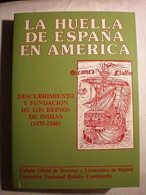 Descubrimiento y fundación de los Reinos de: Gregorio González Roldán