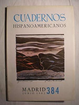 Cuadernos Hispanoamericanos 384. Junio 1982: José Antonio Maravall