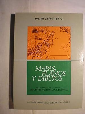 Mapas, Planos y Dibujos De La Sección: Pilar León Tello