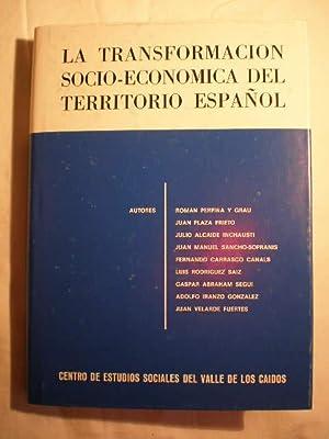 La transformación socio-económica del territorio español. Anales: Roman Perpiña y