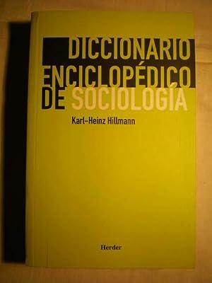 Diccionario enciclopédico de sociología (Diccionario de sociología): Karl ...