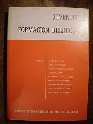 Juventud y formación religiosa. Anales de Moral: Javier Goicolea -