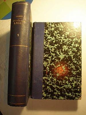 Manual de medicina legal y toxicología (: Dr. Ch. Vibert