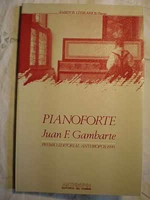 Pianoforte: Juan F. Gambarte