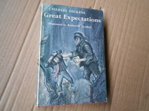 GREAT EXPECTATIONS - Ronald Searle illustrator: CHARLES DICKENS